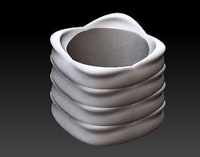 3D print model Extended pot 40