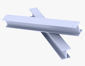 3D model Construction Beam