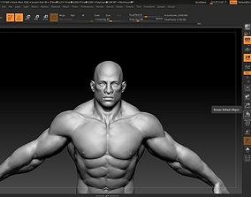 buff black male 3D
