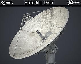 Satellite Dish 3D model low-poly