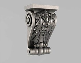 Corbels architectural 3D printable model