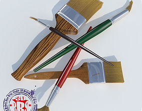 paintbrushes 3D model