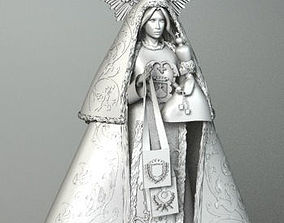 VIRGIN MARIA AND JESUS 3D model