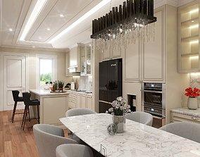 Design Kitchen Set Classic 3D model