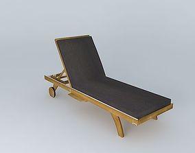 Sunbathing mattress 3D