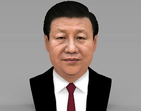 Xi Jinping bust ready for full color 3D printing