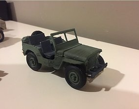 JEEP 1941 - SCALE MODEL - ASSEMBLY KIT