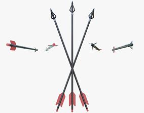 Arrow 3D asset realtime