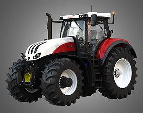 3D model Steyr Tractor - Terrus CVT