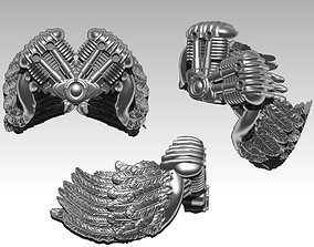 Wings motor ring 3D print model