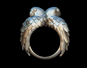 Parrots ring 3D printable model