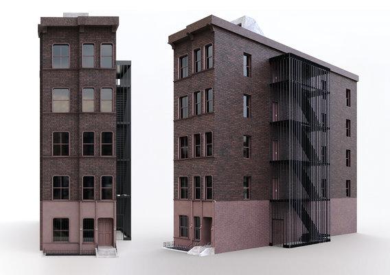 NYC Building - PBR