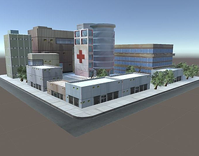 Hospital 3D asset