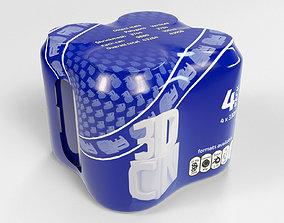 beverage 3D 4 pack 330ml Shinkwrapped Beverage Cans