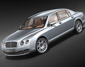 Bentley Continental Flying Spur Speed 2009 3D Model