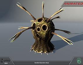 Alien flora - plant 12 3D model