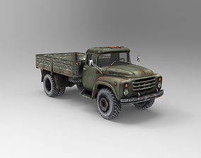 3D asset Zil 130