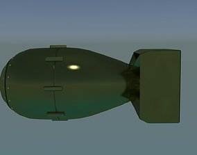 3D model Fat Man Bomb