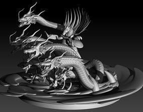 3D print model saint Shiryu - Saint Seiya