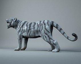 3D model tiger 3