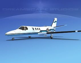 Cessna 500 Citation I V10 3D model