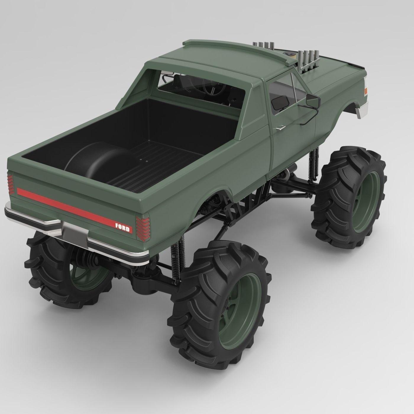 Mud truck