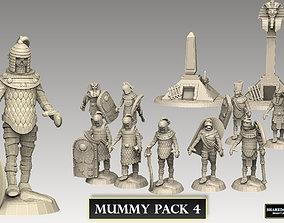 Mummy Pack 4 40k 3D printable model