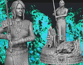 3D print model Witcher Ciri