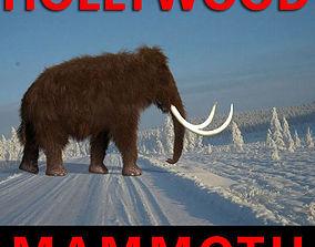 elephant animated Hollywood Mammoth - 3d model