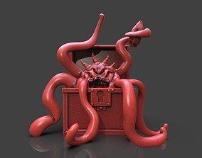 Mimic Chest Monster 3D printable model