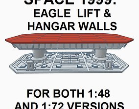 SPACE 1999 EAGLE LIFT DISPLAY BASE 3D printable model 3