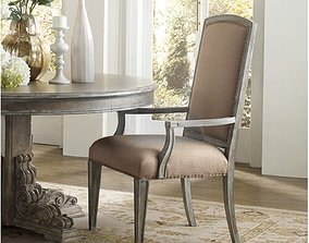 3D Brendon Upholstered Dining Chair