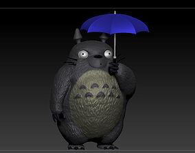 3D print model figurines Totoro - Umbrella