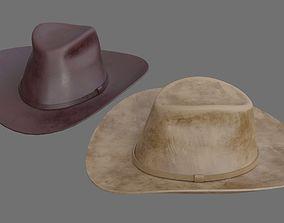 aa2ebdd60 VR / AR / Low-poly Cowboy hat 3D Models | CGTrader