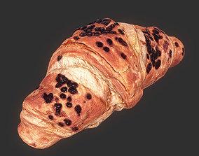 3D asset Croissant