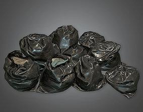 3D asset Trash Bags HVM - PBR Game Ready
