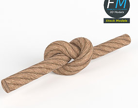 3D Generic tied knot