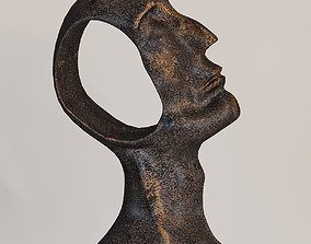 Global Views Hollow Head Man 3D