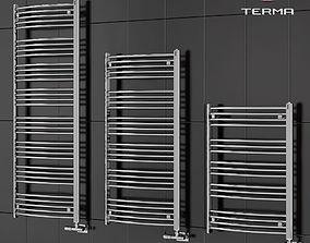 3D Heated towel rail Terma - Domi
