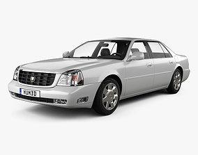 3D Cadillac DeVille DTS 2000