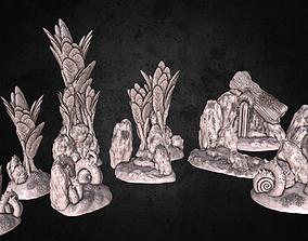 Nature Environment Tabletop Scenery Full 3D print model