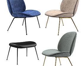 Gubi Fauteuil Beetle Chair 3D