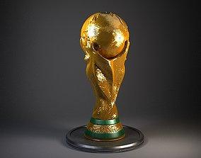 Fifa Cup Trophy winner 3D