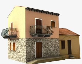 3D asset Village Home W-S