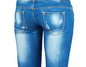 game-ready Photorealistic Jeans Model