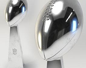 Football Trophy 3D