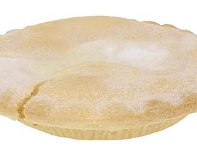 3D asset Apple Pie - High and Low Poly versions
