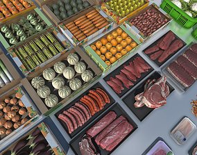 Fresh products with LOD 3D asset