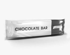 Chocolate bar sugar 3D model