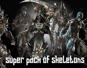 Skeletons super pack 3D